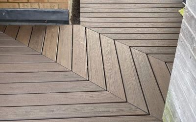 Decking At Central Oxford Apartment