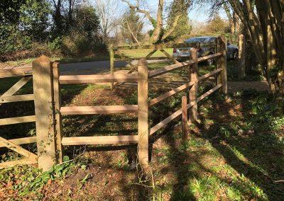 Haddenham Post & Rail Fence