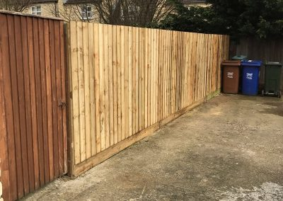 Close Board Fence Replacement In Bicester