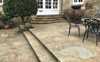 Repointed Patio In Oxford