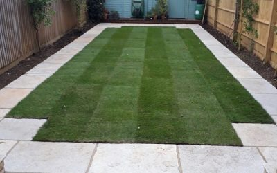 Turf & Paved Path In Oxford