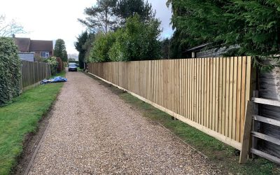 Close Board Fence In Didcot