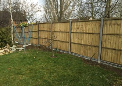 Closeboard Fence In Thame