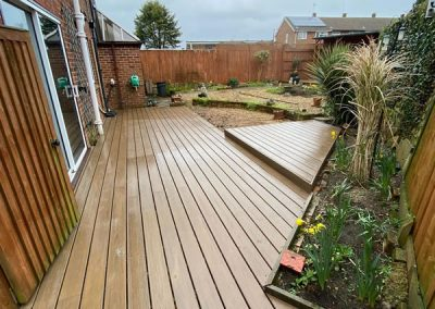 Trek Garden Decking In High Wycombe – Toasted Sand