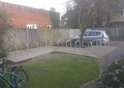 Bike Rack Installed In Central Oxford