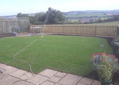 Garden Redesign In Oxfordshire