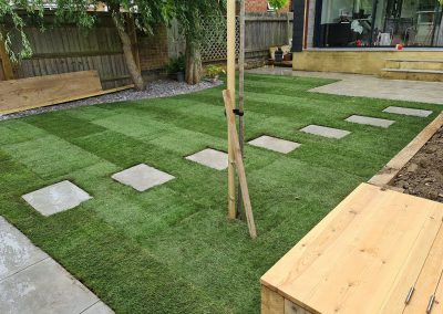 Garden Redesign For A Home In Thame