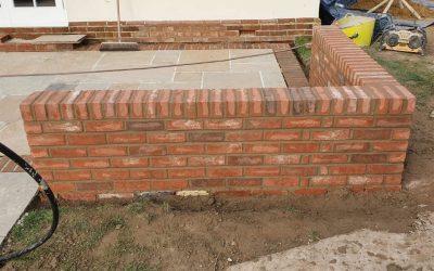 Bespoke Wall Build In Princes Risborough