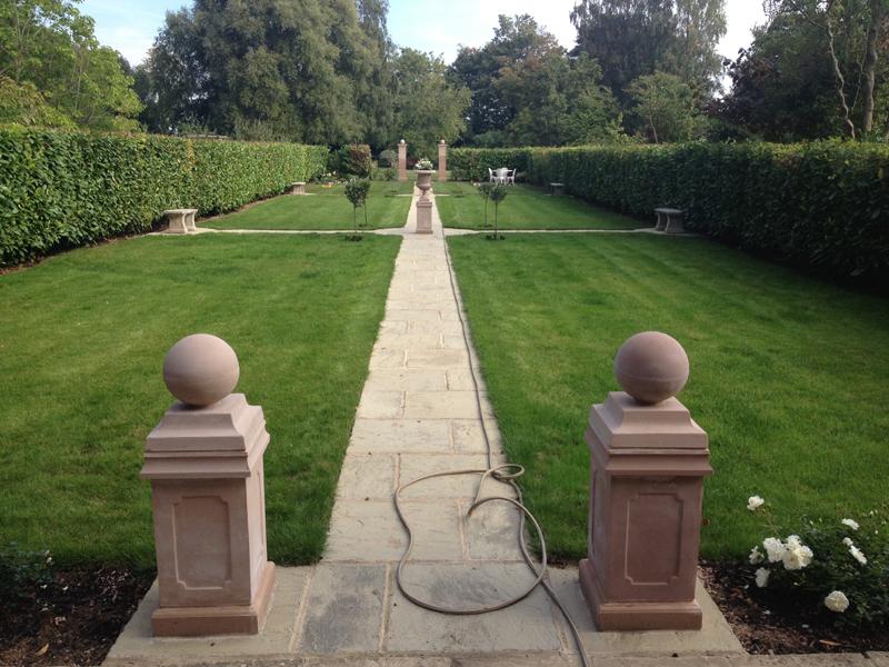 garden redesign Oxfordshire