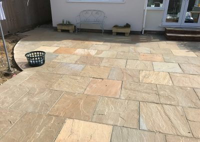 New Patio In Oxfordshire