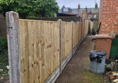 Close Board Fence In Thame