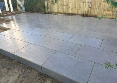 Porcelain Patio In Oxford