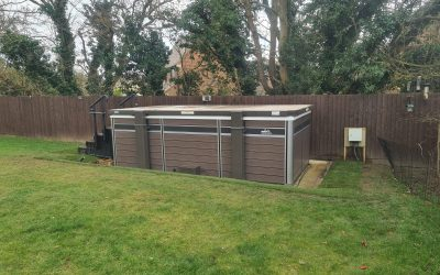Base Of Hot Tub In Oxfordshire