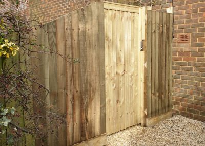Gate & Fence Installed In Buckinghamshire