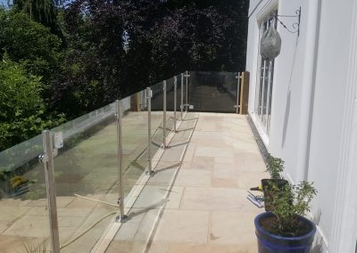 Patio & Glass Balustrade – Oxford