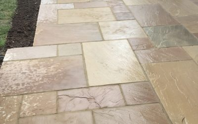 Sandstone Patio – Oxfordshire