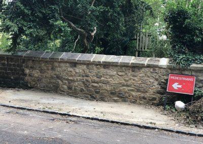 Rebuilt Stone Wall – Thame
