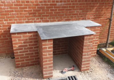 Patio, Decking & Pizza Oven – Cotswolds